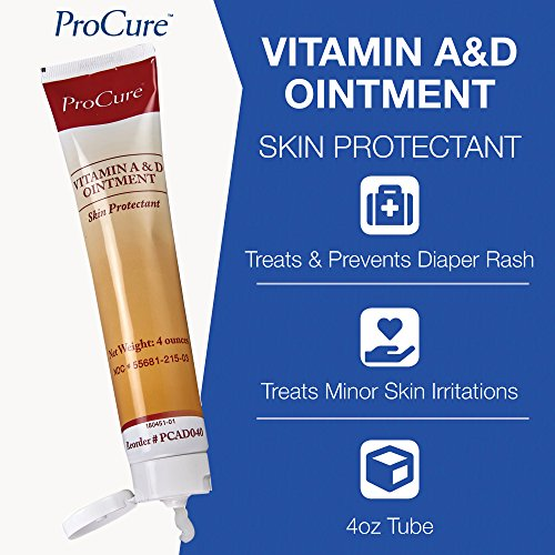 Diaper Creams – ProCure Vitamin A and D Ointment, Treats and